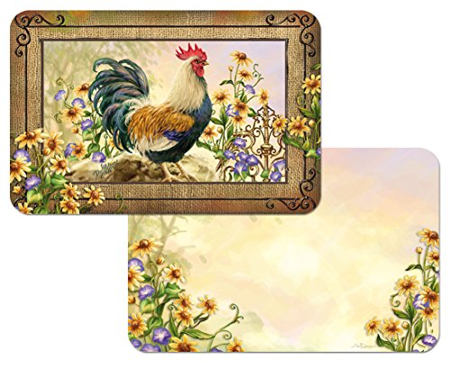 Set Reversible Placemats Country Charm