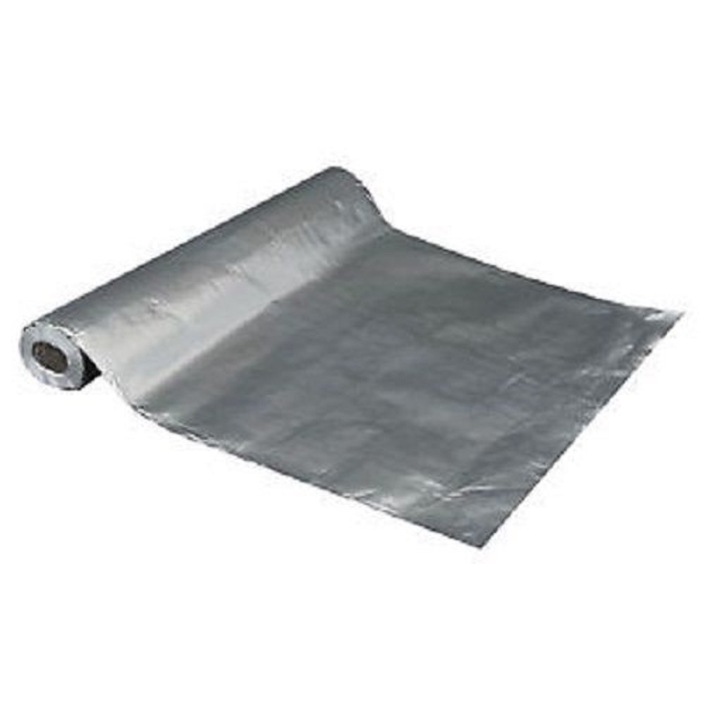 255 sqft Aluminum Foil Barrier Insulation Sauna Vapor Barrier Waterproof Strong
