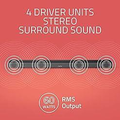 Artis BT-X5 60 Watts Home Theatre Soundbar