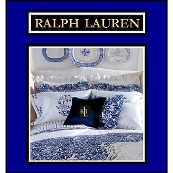 Amazon.com: Ralph Lauren Tamarind Porcelain Blue Comforter