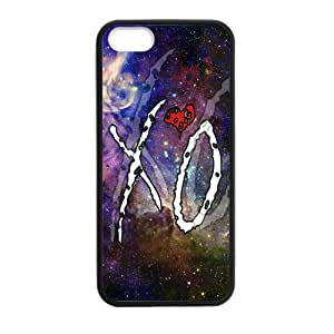 CSKFUCustom Case For Your phone iphone 6 4.7 inch iphone 6 4.7 inch, - Pop Music Band Stars The Weeknd XO Red Love Heart Color Galaxy Nebula Cool Personalized Phone Case Shell Back Cover Protective Case