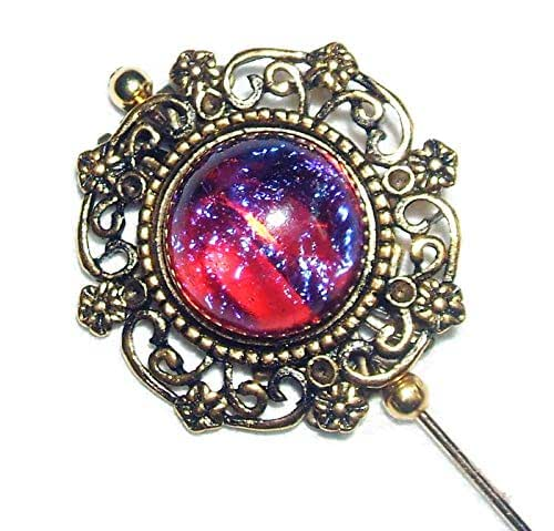 Golden Opal Pin Fire