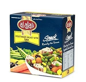 Al Alali Snack Tuna Salad With Vegetable, 185 g