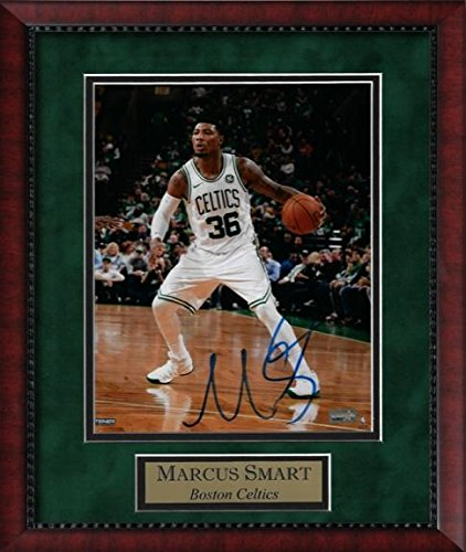 Oklahoma State University Players (Marcus Smart Autographed Photo Framed Dribble 11x14 - Autographed NBA Photos)