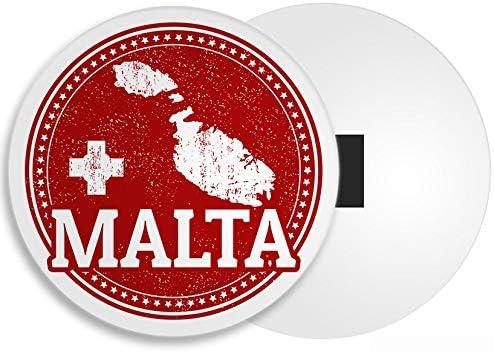 DestinationVinyl Malta Imán - Malta Valetta Vacaciones Gozo Comino Diversión Viajes Regalo # 4285: Amazon.es: Hogar