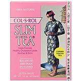 Slim Tea, Col-S-Rol, Tea Bags, 20-Count Box (Pack of 3)