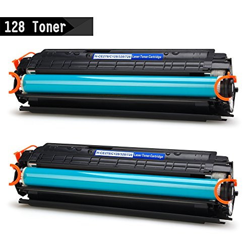 IKONG 2-BLACK 128 Toner Compatible for Canon 128 & HP 78A work with Canon ImageClass D530, MF4770n, MF4880dw, MF4890dw, MF4570dw, D550,Canon FaxPhone L190 L100,LaserJet Pro P1606dn M1536dnf