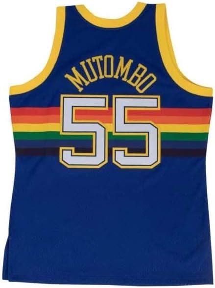 MitchellNess Denver Nuggets Dikembe Mutombo Swingman Jersey 2.0 1991-1992