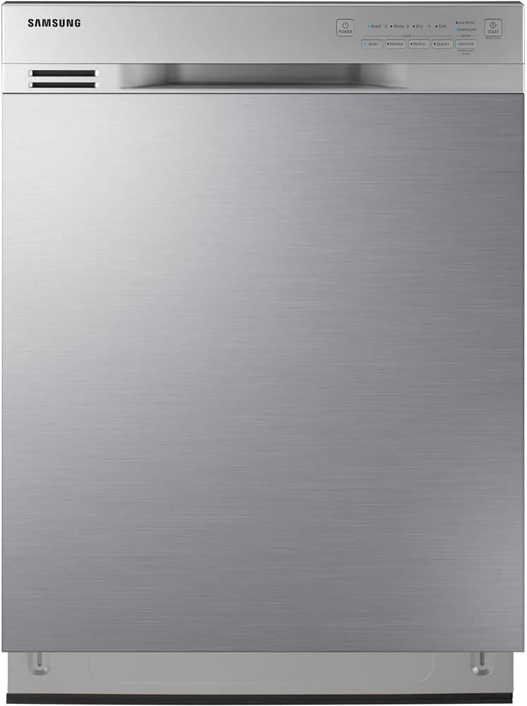 Samsung DW80J3020US/DW80J3020US/AA/DW80J3020US/AA Stainless Front Control Dishwasher with Stainless Steel Tub