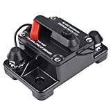 Yescom 100A Circuit Breaker 12-42V DC Manual Reset Auto Car Audio Inline Replace Fuse