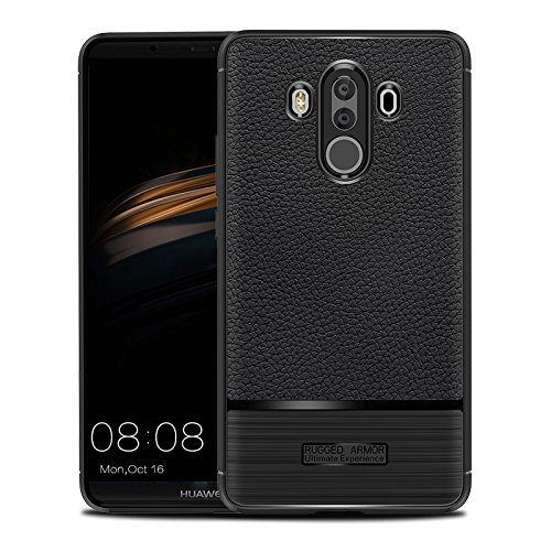 Porsche Cruise Control - Huawei Porsche Design Case,Protects Back Cover [Scratch/Dust Proof] Slim Fit Surface Shockproof Rugged Full-Body Protective Cover Compatible with Huawei Porsche Design - Black