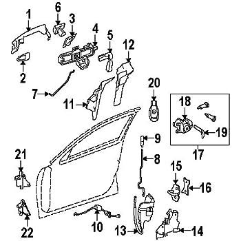 Amazon Com Mercedes Benz 204 720 19 35 Door Lock Actuator Motor