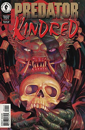 Predator Kindred (1996 Dark Horse) 1-4 Complete