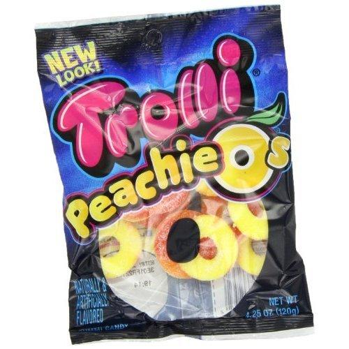 Peachie O's Sour Gummy Candy