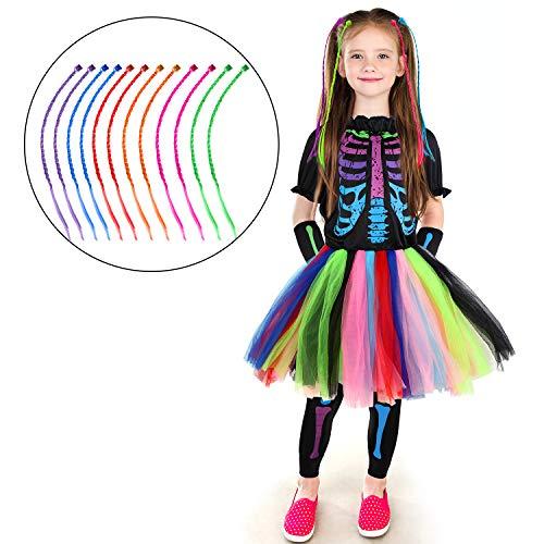 The Skeleton Kids - Girl's Funky Skeleton Bones Costume Set