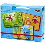 HABA Magnetic Game Box Safari Animals Toy