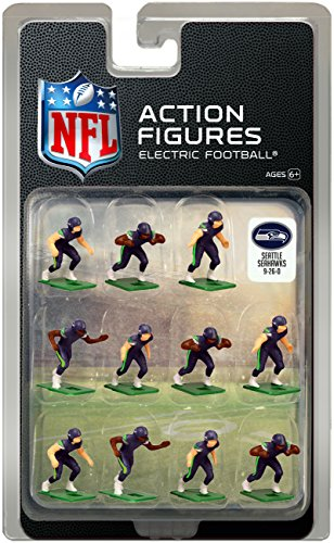 (Seattle Seahawks Home Jersey NFL Action Figure Set)