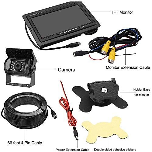 Zsmj Backup Camera And Monitor Kit Reverse Camera Single
