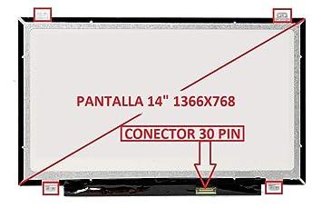 """tecla2xtatil Pantalla Compatible DE Y para PORTATIL HP Probook 640 G2 Series 14"""" WXGA 1366x768"""