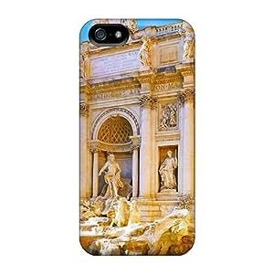 phone covers iPhone 5c Cover Case - Eco-friendly Packaging(fontana Di Trevi Rome Italy) WANGJING JINDA