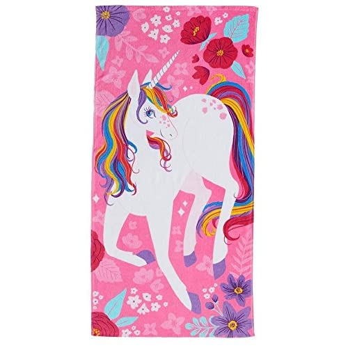 Cheap Jumping Beans Unicorn Beach Towel (28 in x 58 in) hot sale