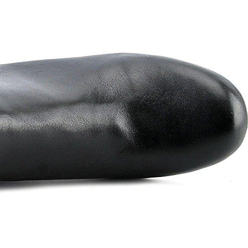 Isaac Mizrahi Leve! Kvinners Kierra Lær Ankel-høy Boot Svart