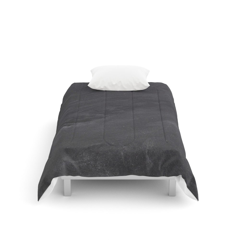 Society6 School Board Comforters Twin: 68'' x 88''