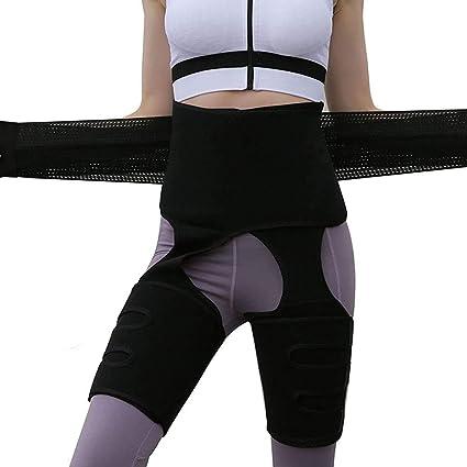 3 in1 Butt Lifter Shaper Waist Trainer Belt High Waist Thigh Trimmer Weight Loss