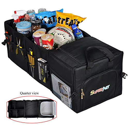 Folding Cargo Bag For Car Trunks Collapsible - 3
