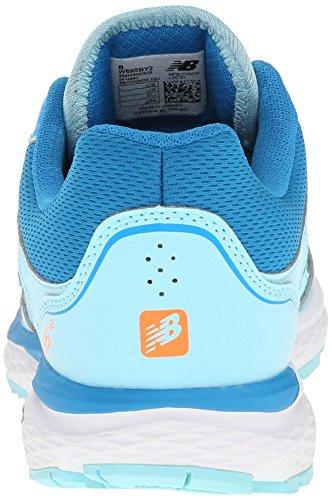 New Balance de las mujeres w695V2Running Shoe Azul/Plateado