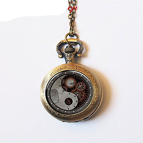 ang Pocket Watch, Yin Yang Pocket Watch Yin and Yang Pendant ()