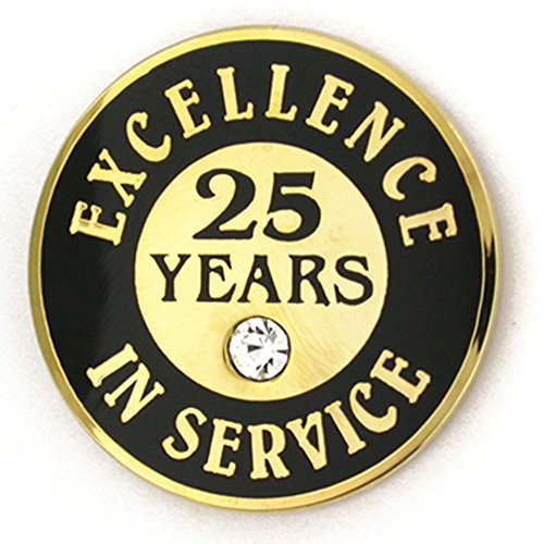 25 years of service pin - 3
