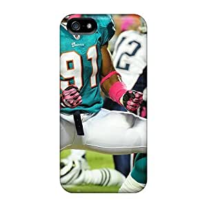 Ideal NikRun For Iphone 5C Case Cover (miami Dolphins), Protective Stylish Case