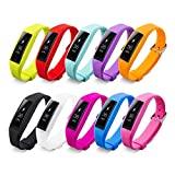 Fitbit Alta Band Pinhen Silicone Strap Unique Full Protection Fitbit Alta Bands For Fitbit Alta Wrist Replacement Band Smart Watch Fitness Strap Accessory (10pcs Full Set) For Sale