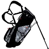 Frogger Golf Hybrid Function Stand Bag, Gray/Black