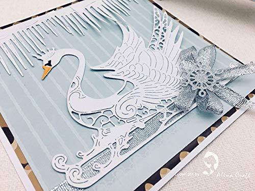 - Dies Scrapbooking Die Cut F3073 Metal Cutting Dies Cut DIY Scrapbooking Paper Craft Embossing Knife Mould Blade Swan Princess Fairy Tale Crown Skate