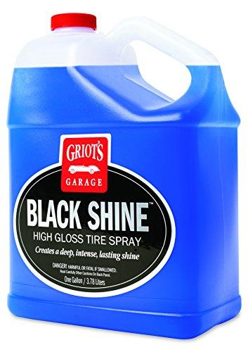 Griot's Garage 10958 Black Shine High Gloss Tire Spray Gallon