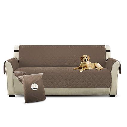 PETCUTE Lujo Cubre para Silla Fundas de Sofa Protector de sofá o Sillón, Dos o