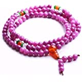 Qiyun Tibet bouddhiste Meditation Priere 6mm Mala Rosaire Strand Collier Bracelet