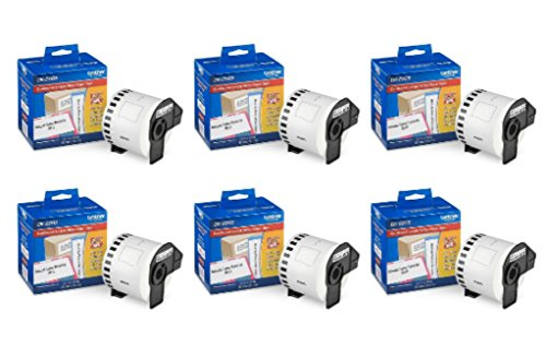 Brother Genuine DK-2205 Continuous Paper Label Roll, Cut-to-Length Label, 2.4