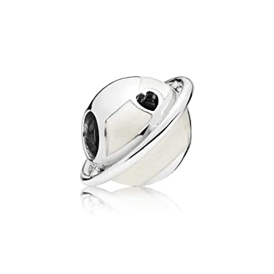 409926029 Amazon.com: PANDORA Planet Love Silver Enamel 925 Sterling Silver ...