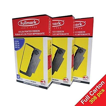 33de542e922e8 Amazon.com: Fullmark N636BK Nylon Printer Ribbon Compatible ...