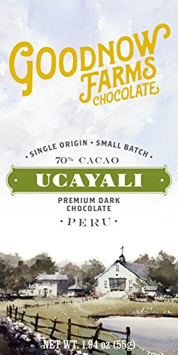 Ucayali 70% Dark Chocolate made in New England