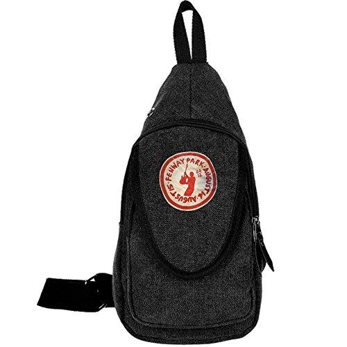 Bruce Springsteen Fenway Park Logo Casual Canvas Unbalance Backpack Sling Bag Men Shoulder Bag Chest Bag