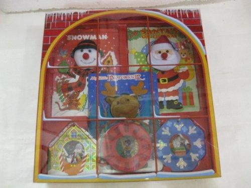 Christmas Gift Box Including 3 Christmas Ornament Books & 3 Christmas Story Board Books