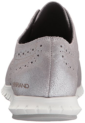 Cole Haan Dames Zerogrand Wing Ox Ch Argento Metallic