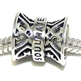 Pro Jewelry 925 Solid Sterling Silver 'Soulmate' Charm Bead