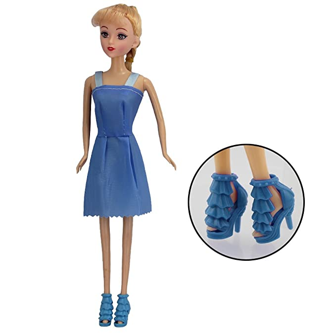 HTIANC Kleidung für Barbie-Puppen, Handgemachte Puppe Zubehör, 12 ...
