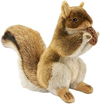 """Hansa White Squirrel with Nut 7/"""" H"""