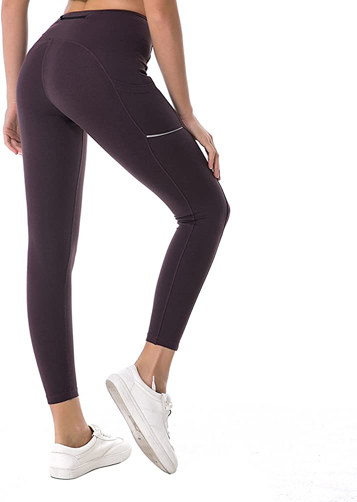 Witkey Power Flex Stirrup Yoga Pants High Waist Tummy Control Crisscross Yoga Leggings for Workout Running